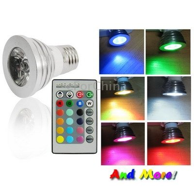 Buy Led Color Changing Light Bulb With Wireless Remote Online At Low