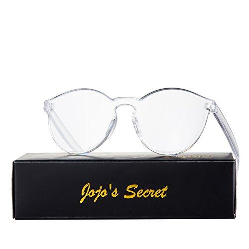 JOJOS SECRET Rimless Sunglasses Transparent product image
