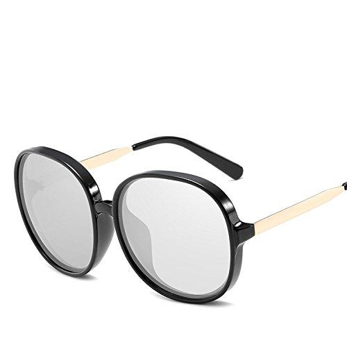 De N01 Box Sol Tendencia Shoot Viajes Mujeres Beach Mirror Gafas No5 Gafas Vacaciones Europa RinV Street De Big Sol twTfFqnz0