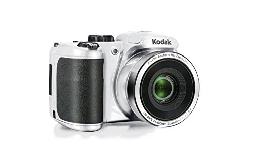 Kodak PIXPRO Astro Zoom AZ252-WH 16MP Digital Camera with 25X Optical Zoom and 3″ LCD (White)