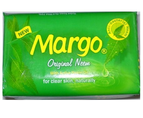 Margo Original Neem Soap - 75g with active Neem Oil, for clear skin, naturally by Margo