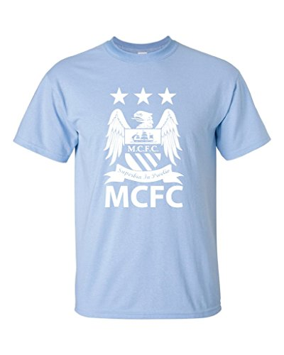 Local Imprint Men's Manchester City T-Shirt 3XL Light Blue
