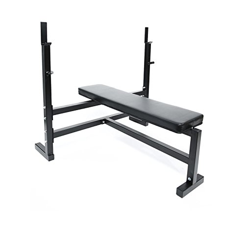 Ader Olympic Bench Press w/ 300lb Black Olympic Set For Sale