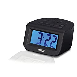 RCA Digital Alarm Clock with 1 Display - RCD10