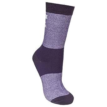 Trespass Womens/Ladies Cool C-Max Liner Socks (5/8 US) (Blackcurrant)