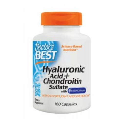 Doctors Best Best Hyaluronic Acid with Chondroitin Sulfate, 180 caps by Doctor's Best