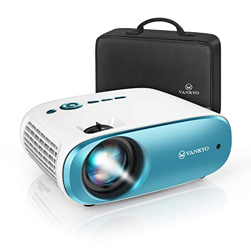 VANKYO Cinemango 100 Mini Video Projector, 3800 Lux HD Movie Projector Support 1080P, 220