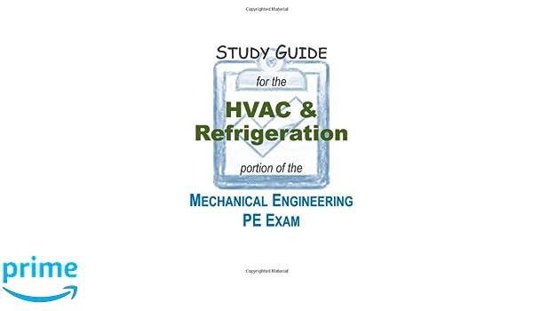 Mechanical Engineering PE Exam - HVAC & Refrigeration: Jeff Setzer ...