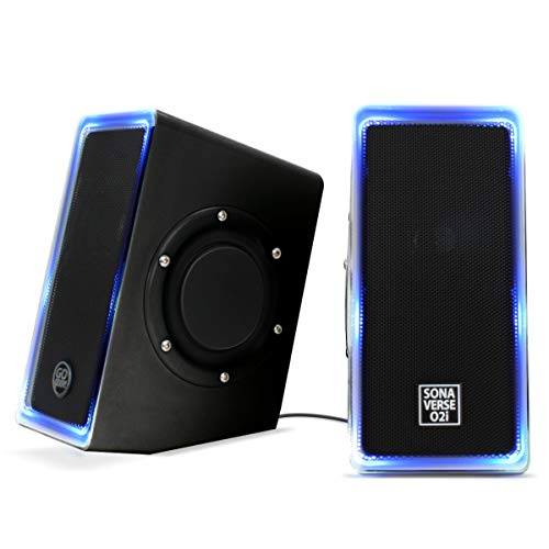 GOgroove Desktop Speakers for Laptop Computer