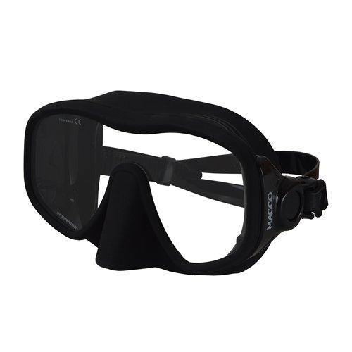 Sherwood Macco Frameless Mask, Clear/Black