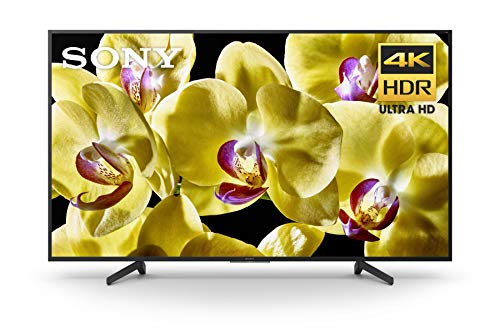 Sony X800G 65 Inch TV: 4K Ultra HD Smart LED TV with HDR and Alexa Compatibility - 2019 Model