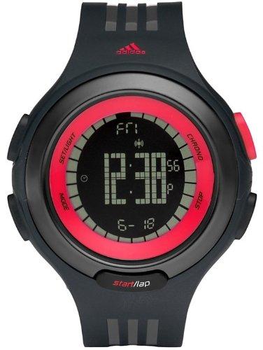 adidas Respuesta Digital Secuencia Negro Poliuretano Mens Reloj adp3068 Reloj de Pulsera (Reloj de Pulsera