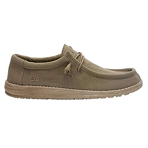 Hey Dude Men's, Wally L Sox Shoes Khaki 13 M