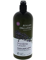 Avalon Organics Nourishing Lavender Hand & Body Lotion...