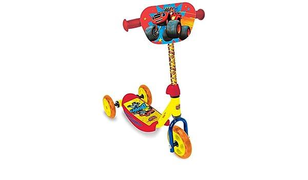 Patinete 3 ruedas de Blaze (st. 6): Amazon.es: Juguetes y juegos
