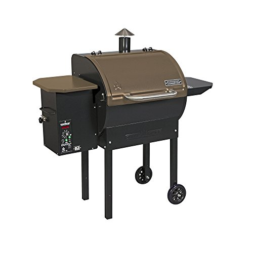 Camp Chef SmokePro DLX 24 Wood Pellet Grill Smoker, Bronze (PG24B)