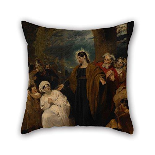 elegancebeauty-throw-pillow-covers-of-oil-painting-harlow-george-henry-the-virtue-of-faithfor-girlsd