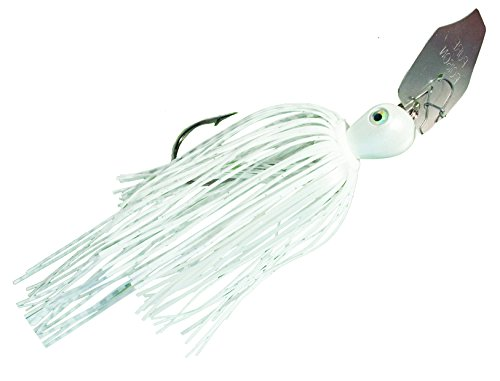 Strike King Pure Poison Extreme Action Swim'n Jig Bait (White,