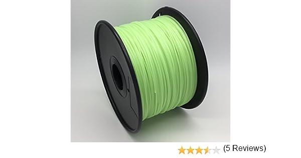 PLA 1.75mm 5 Metros 30+ suministros exactos de la impresora 3D de la precisi/ón alta de los colores Calidad premium filamento de pluma de impresi/ón 3D Amarillo