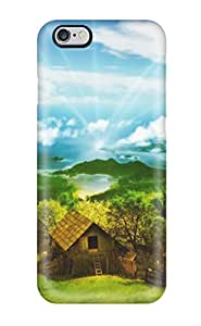 Hard Plastic Iphone 6 Plus Case Back Cover,hot Scenery Case At Perfect Diy