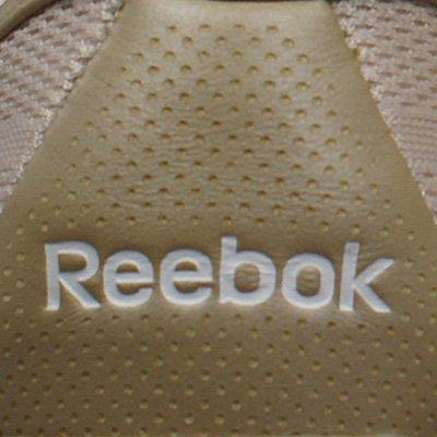 Reebok 150236 - Zapatillas deportivas de nailon para mujer Champán / Blanco