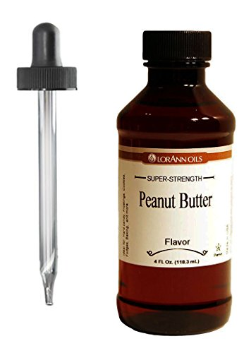Peanut Butter Hard Candy Flavoring, by LorAnn Oils, 4 oz ...