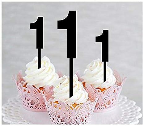 Decoración para tarta de primer cumpleaños, aniversario ...