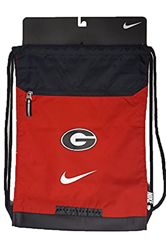 Georgia Cinch Pack Georgia Bulldogs Drawstring Backpack - Unique Mesh & Microfiber (Drawstring Microfiber Backpack)