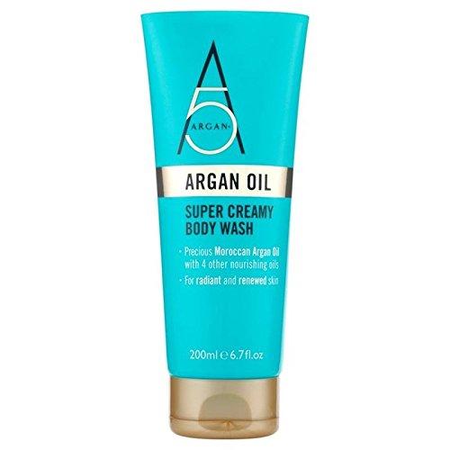 (Argan+ Super Creamy Body Wash 200ml)