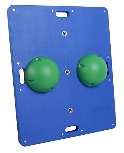 CanDo Balance Board 15x18 Inch, 2 Inch Height, Green