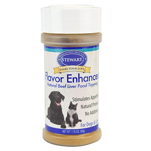 Stewart Beef Liver Flavor Enhancer, For Cats & Dogs, 1.75 Oz