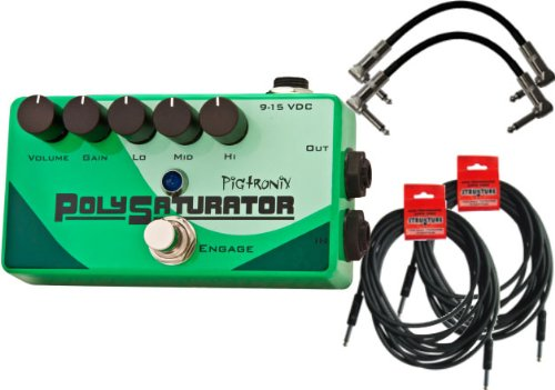 Pigtronix PSO PolySaturator W/4 Free Cables