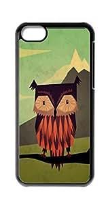 HeartCase Hard Case for Apple iPhone 5C ( Owls Owl Cute Pattern )