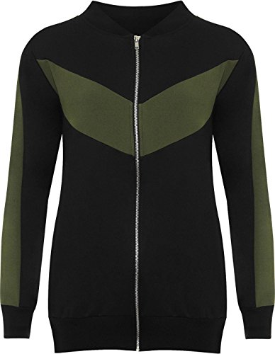 WITH Mujer Para RIDDLED Chaqueta STYLE Verde zZd1q1