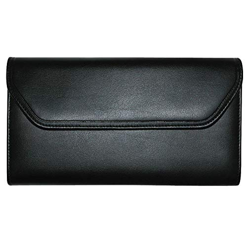 Buxton Cal-Q-Clutch Leather Clutch Wallet