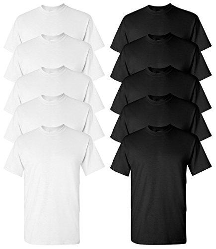 gildan-mens-heavy-cotton-53-oz-t-shirtg500-white-black-m-5pk