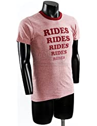"""Original Movie Prop - Adventureland - Production Used """"Rides"""" costume T-shirt - Authentic"""