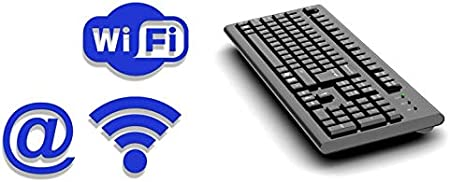AirDrive Teclado forense WiFi Pro – Teclado USB con registro ...
