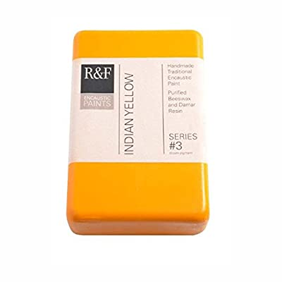 R&F Encaustic 333ml Paint, Indian Yellow