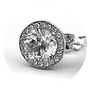 alfombrilla de ratón Pendientes de diamantes - ronda - 20cm