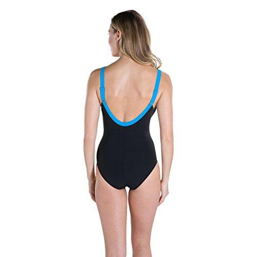 Windsor Da blu Intero Donna Ossido Aquajewel Costume Bagno Speedo Nero grigio wvtPxzWU
