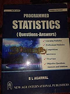 Buy Programmed Statistics - Question-Answers (Old Edition) Book