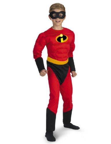 The Incredibles: Mr. Incredible Muscle Chest Child Costume Size (Mr Incredible Muscle Costumes)