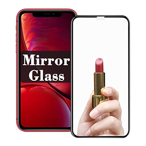 【Mirror Effect】 xs Screen Protector Compatible with Apple iPhone Xs/x Tempered Glass Film Mirrored Glas Cover for i Phone 10s x s sx Steel Film xphone x XSPhone iphonexs S10 10 10xs【9H Hardness】