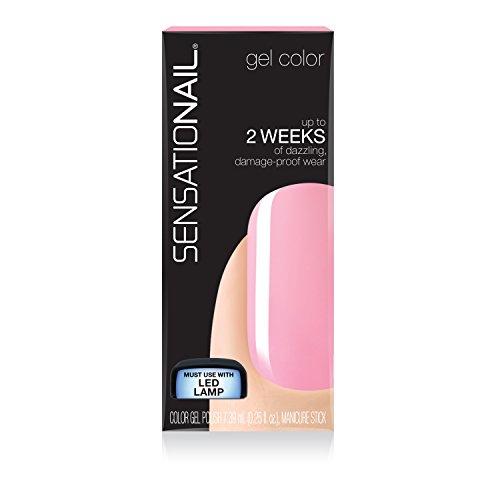 Sensationail Invincible Gel Polish 71587 Pink Chiffon