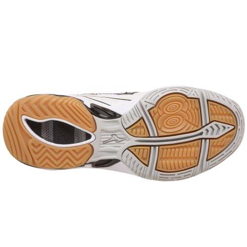 Zapatillas De Volante Mizuno Mujeres Wave Spike 12 Blancas / Negras