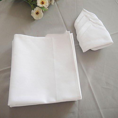ZHFC Algodón blanco engrosamiento servilleta de tela hotel ...