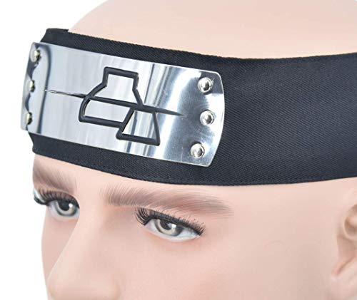 DAZCOS Anti Rock Village Deidara Cosplay Headband Akatsuki Head Protector -