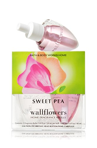 Bath Body Works Sweet Pea Wallflowers Home Fragrance Refills 2 Bulbs by Bath & Body Works