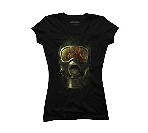 Spores Juniors' Small Black Graphic T Shirt - Design By -